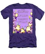 Waltz Of The Flowers Dancing Iris Men's T-Shirt (Athletic Fit)