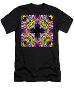 Warp Flower Men's T-Shirt (Athletic Fit)
