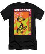 Welcome To My Garden-jp2828 Men's T-Shirt (Athletic Fit)