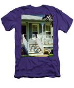 White Rocking Chairs Men's T-Shirt (Athletic Fit)