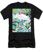 Whooping Crane Cynthia Men's T-Shirt (Athletic Fit)