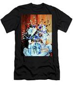 Wildflowers In A Mason Jar Men's T-Shirt (Athletic Fit)