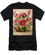 Wildly Red Men's T-Shirt (Athletic Fit)