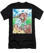 Work Horse  Men's T-Shirt (Athletic Fit)