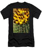 Yellow Cactus Men's T-Shirt (Athletic Fit)