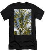 Yellow Little Flowers Men's T-Shirt (Athletic Fit)