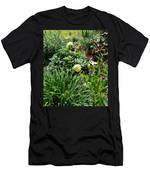 Yellow Peonia Men's T-Shirt (Athletic Fit)