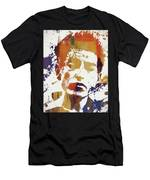 Young Bob Dylan Men's T-Shirt (Athletic Fit)