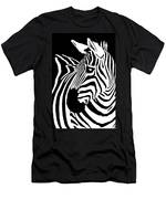 Zebra Works Men's T-Shirt (Athletic Fit)