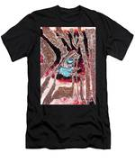Zebras Eye - Abstract Art Men's T-Shirt (Athletic Fit)