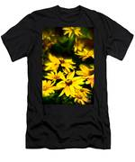 Zinnia Flower Men's T-Shirt (Athletic Fit)