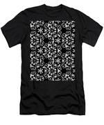 Ornate Pattern Drawing Men's T-Shirt (Athletic Fit)