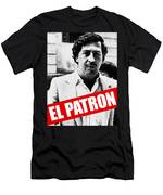 Pablo Escobar Men's T-Shirt (Athletic Fit)