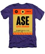 Ase Aspen Luggage Tag I Men's T-Shirt (Athletic Fit)
