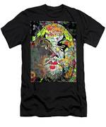 Colorful Makeup Men's T-Shirt (Athletic Fit)