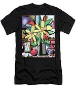 Daisy's And Tulips Men's T-Shirt (Athletic Fit) by Anthony Falbo