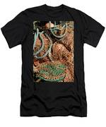 Deep Sea Fishing Nets And Buoys Men's T-Shirt (Athletic Fit)