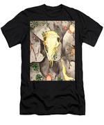 Deer Skull Men's T-Shirt (Athletic Fit)