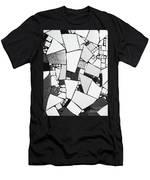 Divided Shapes Men's T-Shirt (Athletic Fit)