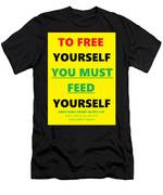 Free Yourself Men's T-Shirt (Athletic Fit)
