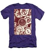 Mooring In Maroon  Men's T-Shirt (Athletic Fit)