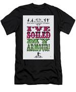 No03 My Silly Quote Poster Men's T-Shirt (Athletic Fit)
