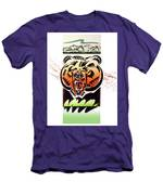 Rocky Mountain Grizzly Men's T-Shirt (Athletic Fit)