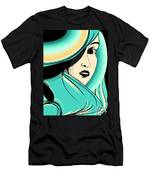 Shy Girl Men's T-Shirt (Athletic Fit)