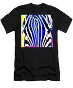 Zany Zebra II Men's T-Shirt (Athletic Fit)