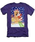 Present From Santa Men's T-Shirt (Athletic Fit)