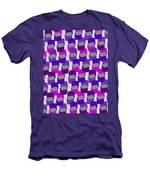 Squares Men's T-Shirt (Athletic Fit)