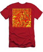 0118 Abstract Thought Men's T-Shirt (Athletic Fit)