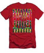 0337 Abstract Thought Men's T-Shirt (Athletic Fit)