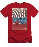 Lug Nuts On Grate Vertical Men's T-Shirt (Athletic Fit)