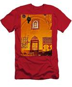 Room For Rumi's Sarcophagus In Konya-turkey  Men's T-Shirt (Athletic Fit)