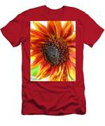 Sunflower From The Color Fashion Mix Men's T-Shirt (Athletic Fit)