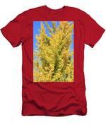 Tall Ginkgo Tree Men's T-Shirt (Athletic Fit)