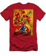 Flowers Men's T-Shirt (Athletic Fit)