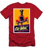 1924 - Ca-bloc Brakes French Advertisement Poster - Color Men's T-Shirt (Athletic Fit)