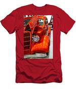 1935 Orange Ford-front View Men's T-Shirt (Athletic Fit)