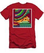 Cartoons Kids Love Electronic Survillance Organic Spy Agents Men's T-Shirt (Athletic Fit)