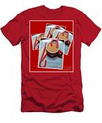 Cup Of Christmas Cheer - Candy Cane - Candy - Irish Cream Liquor Men's T-Shirt (Athletic Fit)