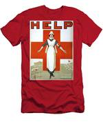 Red Cross Poster, C1917 Men's T-Shirt (Athletic Fit)