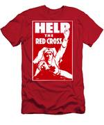 Red Cross Poster, 1917 Men's T-Shirt (Athletic Fit)