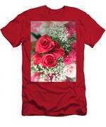 A Bouquet Of Roses For You Men's T-Shirt (Athletic Fit)