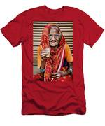 A Lady And Her Chai II Men's T-Shirt (Athletic Fit)