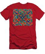 A Maze Of Nature Men's T-Shirt (Athletic Fit)