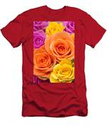 A Riot Of Roses Men's T-Shirt (Athletic Fit)