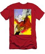 Abstract 693154 Men's T-Shirt (Athletic Fit)