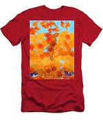 Abstract Summer Men's T-Shirt (Athletic Fit)